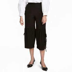 H&M Culottes With Lacing